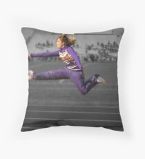 Kick Butt Throw Pillow
