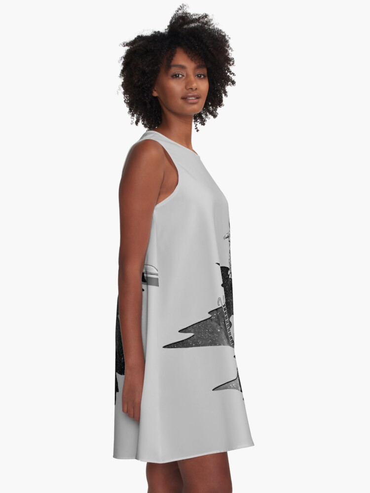 Alternate view of Space Diving A-Line Dress