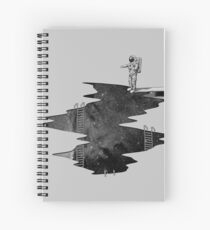 Space Diving Spiral Notebook
