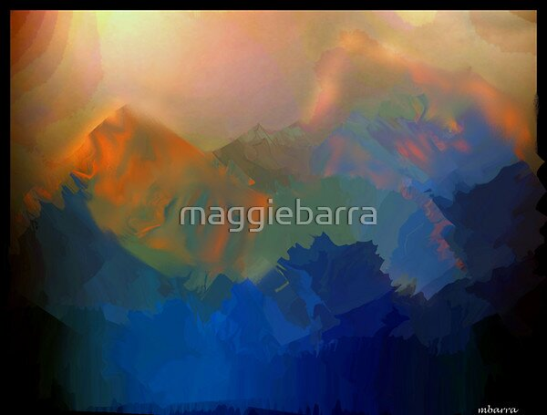 The Mountains  by maggiebarra
