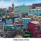 Valparaiso, Chile by Jacinthe Brault