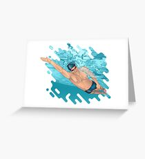 Super Swimmer Greeting Card