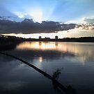 The River Tees at dusk Take 1 by torisummers