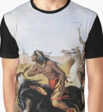 Horse Racing of the Sioux Graphic T-Shirt