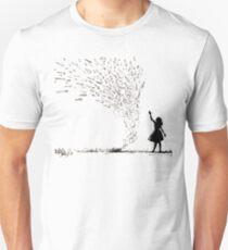 Airplane Girl Unisex T-Shirt