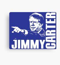 JIMMY CARTER Canvas Print
