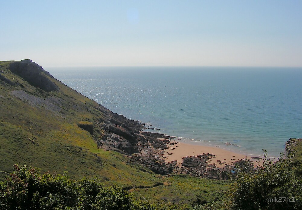 3 cliffs bay by mik27rc1