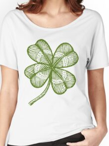 Vintage lucky clover Women's Relaxed Fit T-Shirt