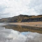 Charmouth In March by Susie Peek