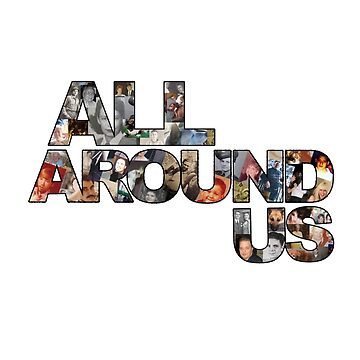 All Around Us Documentary Film Logo by ALLAROUNDUS