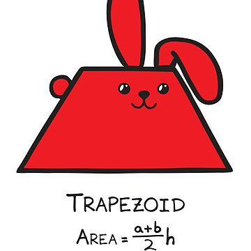 Trapezoid GeoBunny by 2redheadedbros