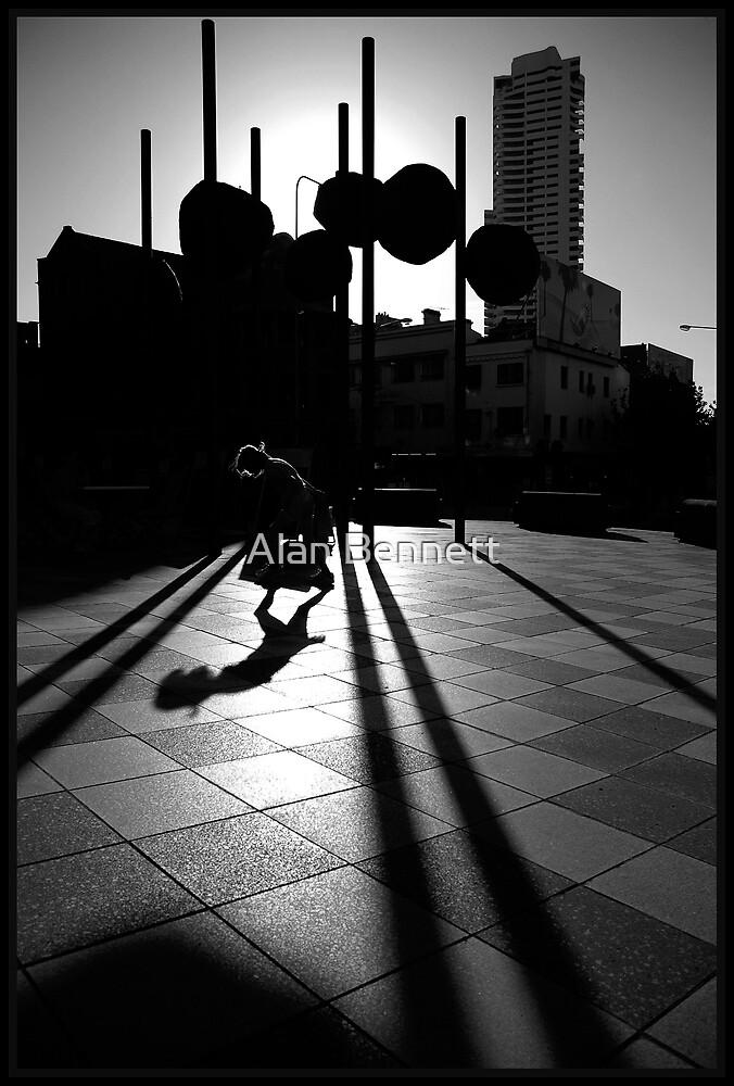 Girl in the Shadows by Alan Bennett