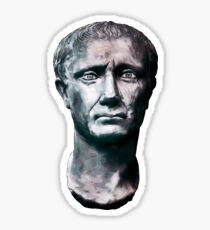 Julius Caesar Portrait Illustration Sticker