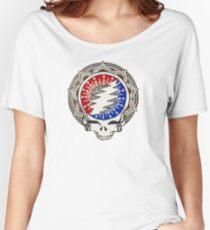 Grateful Dead Mandala Women's Relaxed Fit T-Shirt