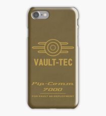 The Pip-Comm 7000 iPhone Case/Skin