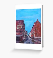 Hull, Posterngate Greeting Card