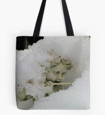 Still playing the flute Tote Bag
