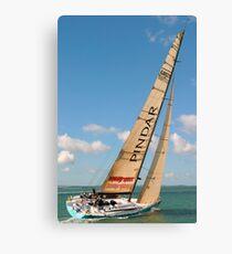 Racing Yacht Canvas Print