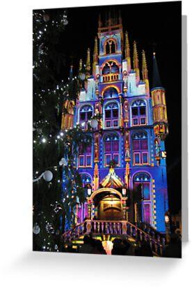 Christmas in Gouda by Hans Bax