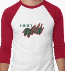 Minnesota Wild Men's Baseball ¾ T-Shirt