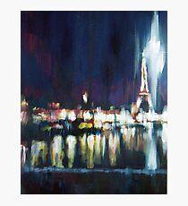 Paris at night part one Photographic Print