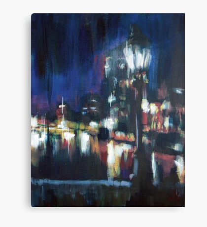 Paris at night part two Canvas Print