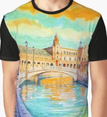 Water Reflections Graphic T-Shirt