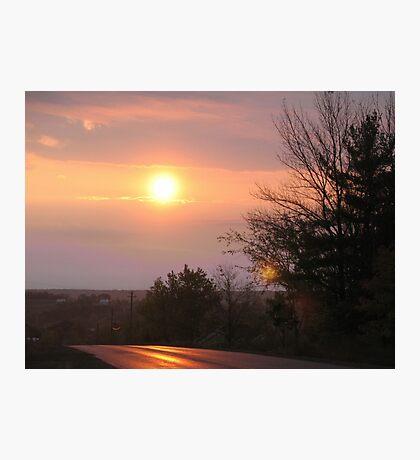 Orange Morning Photographic Print