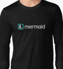 Mermaid (Aqua) Long Sleeve T-Shirt