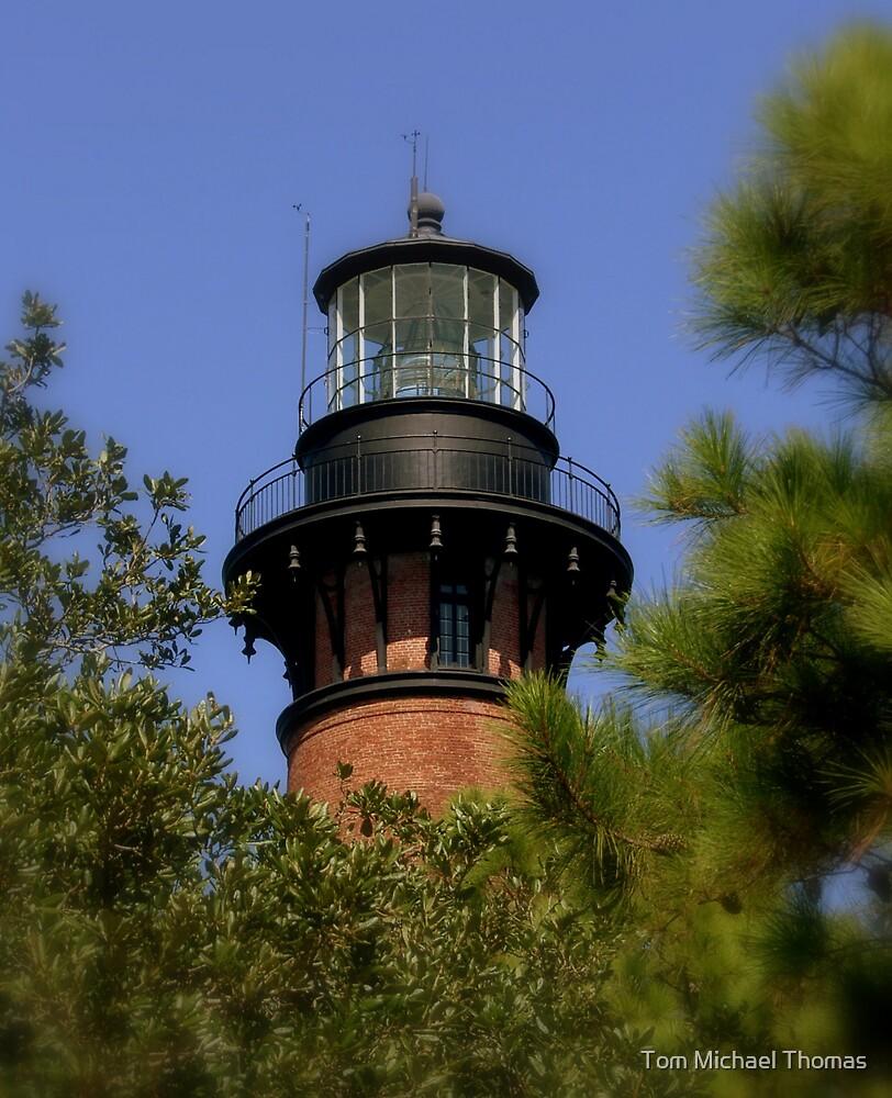 Currituck Beach Lighthouse by Tom Michael Thomas