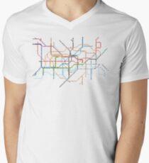 London Underground Pixel Map T-Shirt