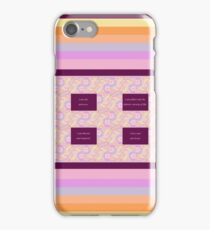 Consciousness 1 with Affirmations iPhone Case/Skin