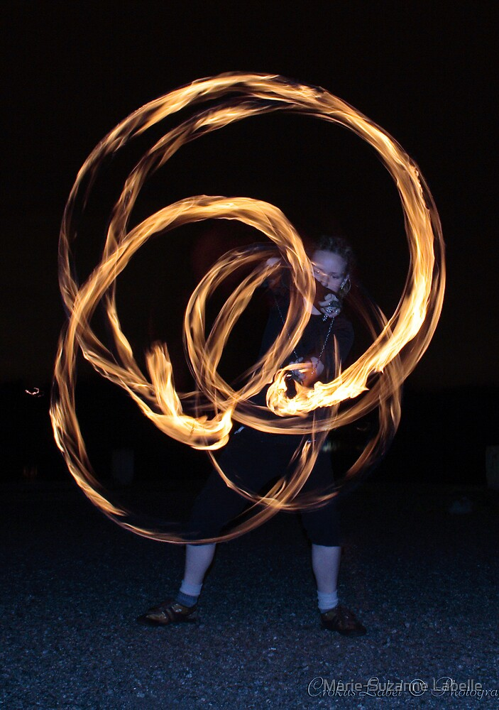 Fire-Dancing Girl by Marie-Suzanne Labelle