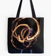 Fire-Dancing Girl Tote Bag