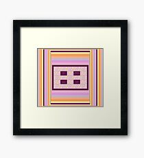 Consciousness 1 with Affirmations Framed Print