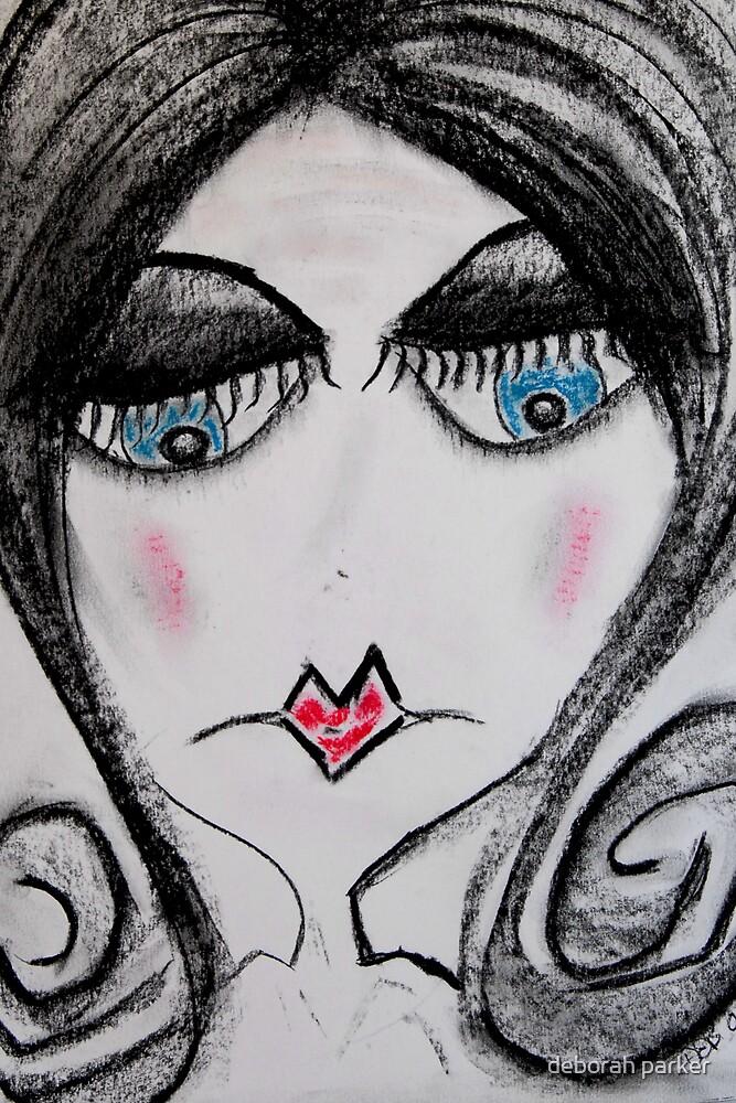 sad girl by deborah parker