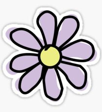 Lavender Flower Sticker