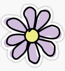 Lavendel Blume Sticker