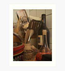 Culinary Instruments Art Print