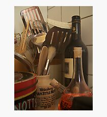 Culinary Instruments Photographic Print