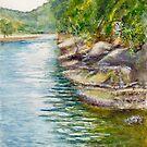Apple Tree Creek at Bobbin Head, Sydney by Dai Wynn