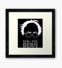 FEEL THE BERN - SANDERS T-Shirts Framed Print