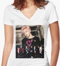 BTS - Jimin Women's Fitted V-Neck T-Shirt
