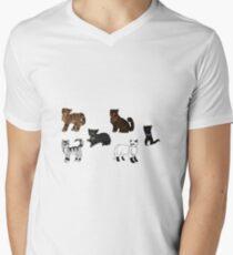 Die Prophezeiungen beginnen 3 T-Shirt mit V-Ausschnitt für Männer