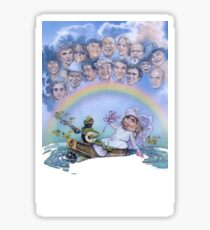 The Muppet Movie Sticker
