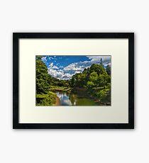 Tranquil Vermont Framed Print