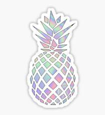 Schillernde Ananas Sticker