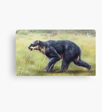 Arctodus Simus Restored Canvas Print