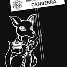 March for Science Canberra – Kangaroo, white by sciencemarchau