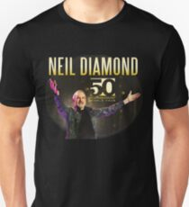 Neil Diamond 50 Years Anniversary Unisex T-Shirt